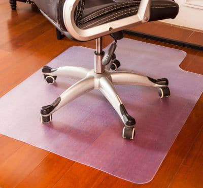 Mysuntown Office Chair Mat for Hardwood Floor
