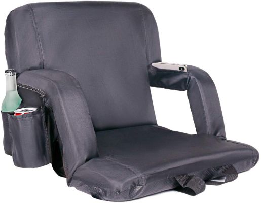Leader Accessories Water Resistant Stadium Seat Cozy Portable Reclining Seat