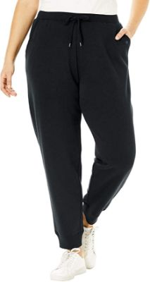 Woman Within Women's plus Size Petite Better Fleece Jogger Sweatpant