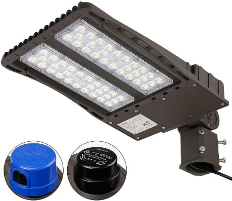 LEONLITE Ultra Bright LED Parking Lot Light
