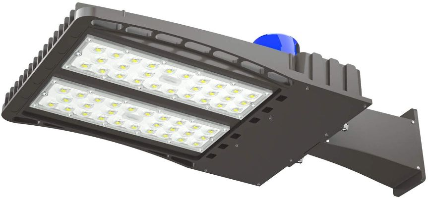 AntLux 150W LED Parking Lot Lights Shoebox Pole Light