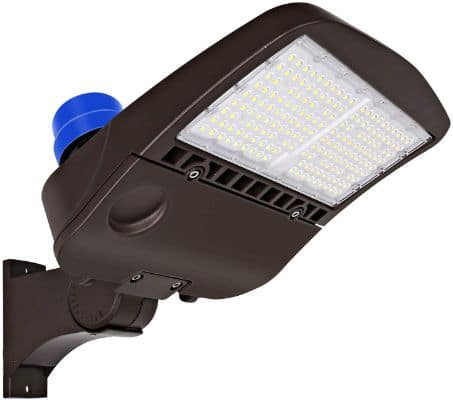 Hykolity 150W LED Parking Lot Light with Photocell