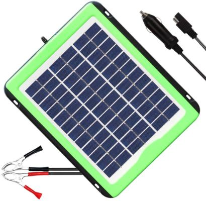 SOLPERK 5W Solar Panel Solar trickle Charger Solar Battery Charger and Maintainer