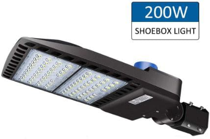 200W LED Parking Lot Lights