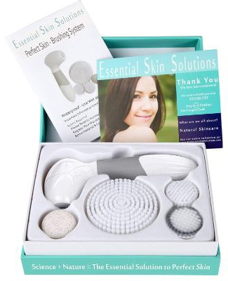 Face Brush - Exfoliation & Cleansing System – Microdermabrasion Facial Brush