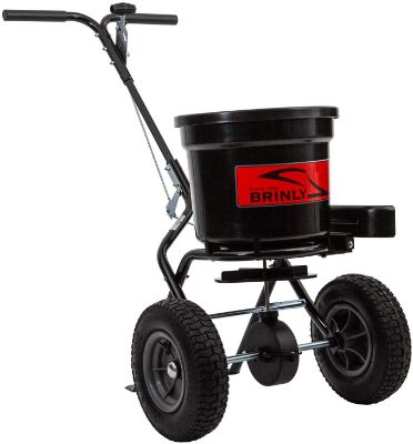 Brinly P20-500BHDF Push Spreader with Side Deflector Kit