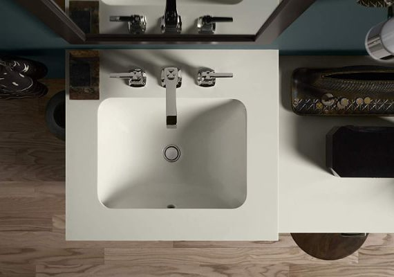 KOHLER K-20000-0 Caxton Under-Mount Bathroom Sink