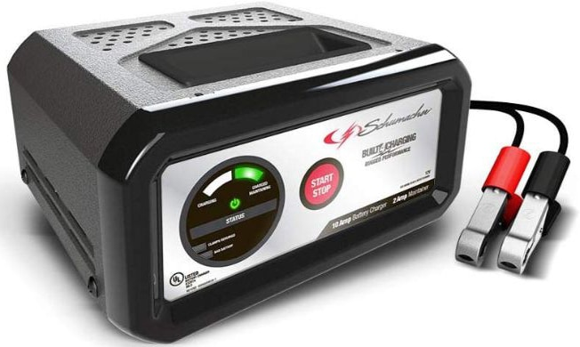 Schumacher SC1282 12V Fully Automatic Charger and 10A Maintainer