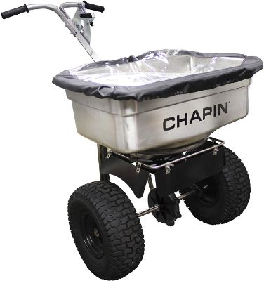 Chapin International Chapin 82500 100-Pound Stainless Steel Professional Salt Spreader