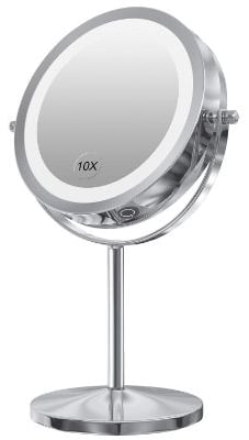 Gospire LED Makeup Mirror with Touch Screen Adjustable LED Light