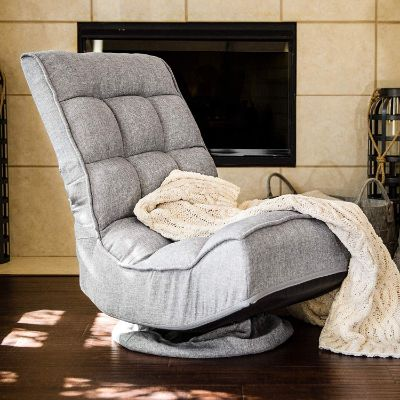 Best Choice Products 360-Degree Swivel Folding Floor Gaming Chair