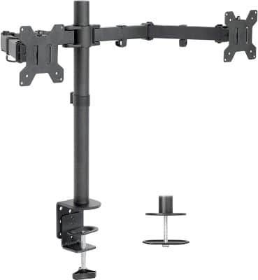 VIVO Dual LCD Monitor Desk Mount Stand Heavy Duty Fully Adjustable