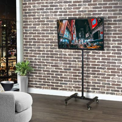 VIVO Mobile TV Display Stand for 13 to 42 inch LED LCD Flat Panel Screens
