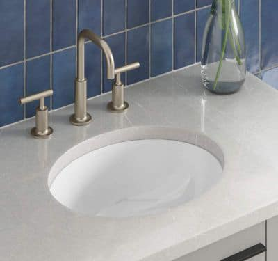 KOHLER K-2209-0 Caxton Under-Mount Bathroom Sink