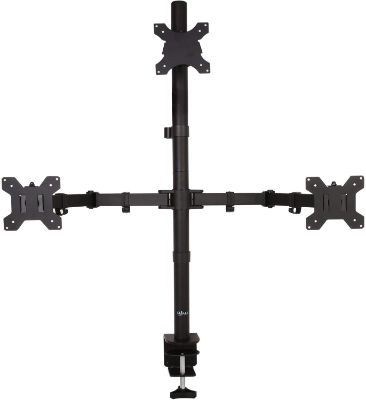 WALI Triple LCD Monitor Desk Mount Fully Adjustable Stand