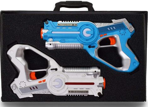 DYNASTY TOYS Family Games Laser Tag Set and Carrying Case