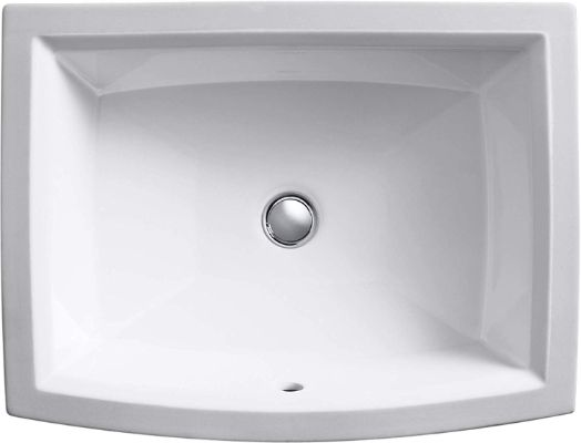 KOHLER K-2355-0 Archer Under-Mount Bathroom Sink
