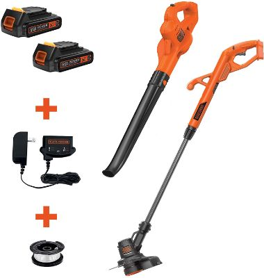 BLACK+DECKER LCC222 20V MAX Lithium String Trimmer:Edger