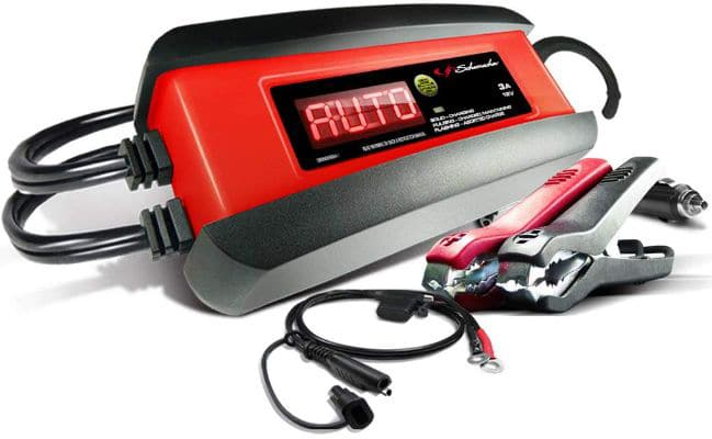 Schumacher SP1297 12V Fully Automatic Battery Charger and 3A Maintainer