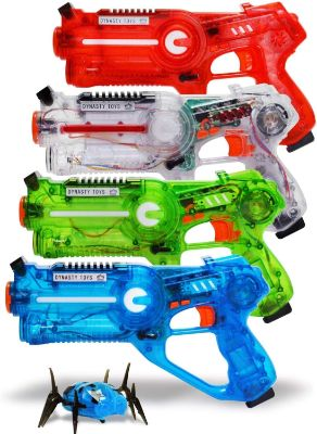 DYNASTY TOYS Family Laser Tag Set - 4 Laser Tag Blasters