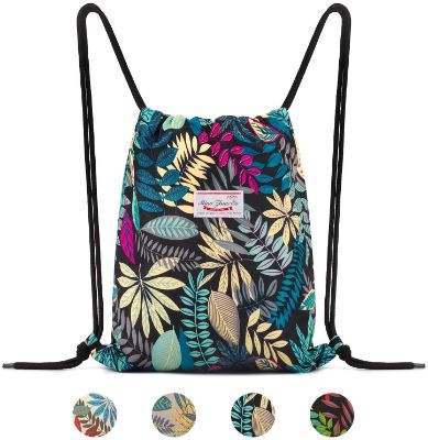 Drawstring Backpack String Bag Sackpack