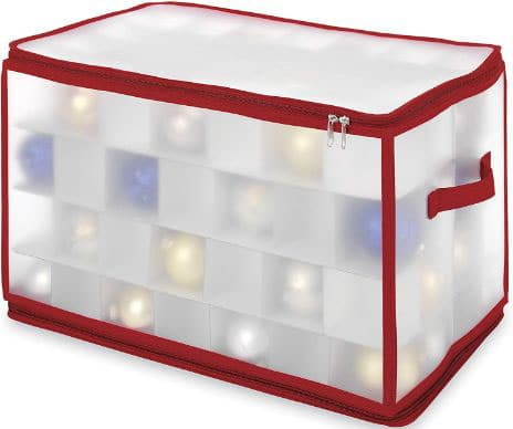 Whitmor Christmas Large Ornament Storage