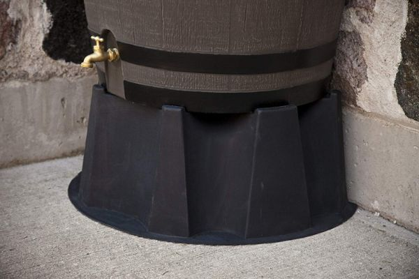 RTS Home Accents 50-Gallon Rain Water Collection Barrel Stand