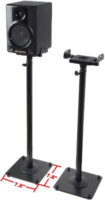 VideoSecu 2 Heavy Duty PA DJ Club Adjustable Height
