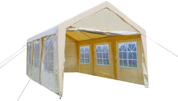 GOJOOASIS Carport Frame Tent Party Tent