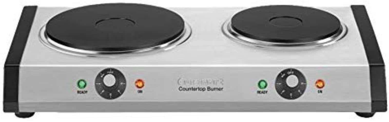 Cuisinart CB-60P1 Cast-Iron Double Burner