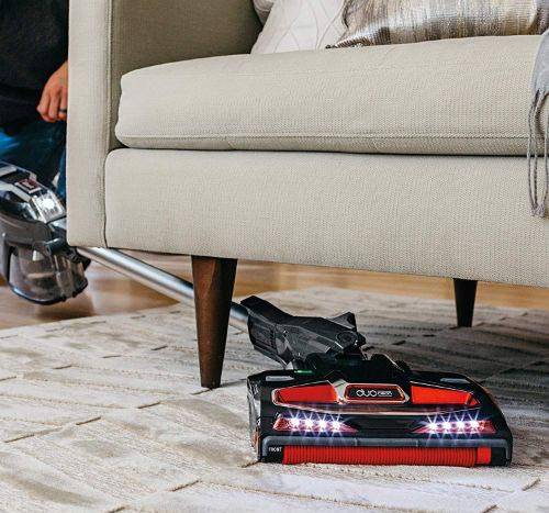 Shark Rocket DuoClean Ultra-Light Corded (Non-Cordless) Bagless Carpet and Hard Floor with Hand Vacuum