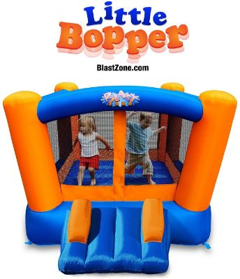 Blast Zone Little Bopper - Inflatable Bounce House with Blower