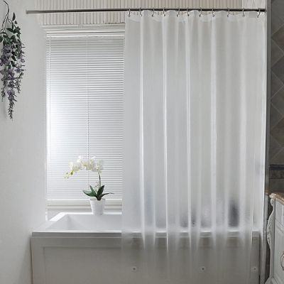 AooHome 36 x 72 Inch Stall Size Shower Curtain Liner, Eva Shower Curtain Frosted Pattern