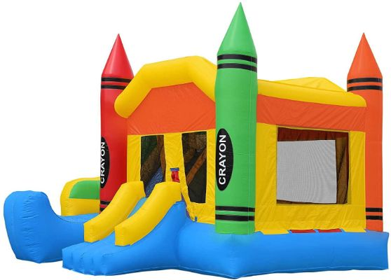 Inflatable HQ Commercial Grade Crayon Castle Bounce House