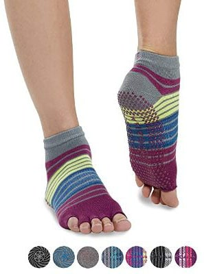 Gaiam Toeless Grippy Non Slip Yoga Socks