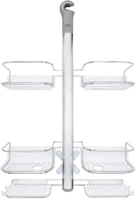 OXO 13168600 Good Grips Stainless Steel Shower Caddy