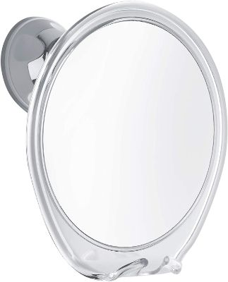 PROBEAUTIFY Fogless Shower Mirror for Shaving | Razor Hook Holder, 360 Degree Rotation, Suction Cup
