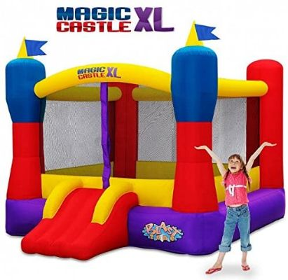 Blast Zone Magic Castle XL10 - Inflatable Bouncer with Blower