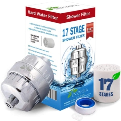 17-Stage Shower Filter With Replacement Filter