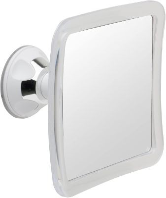 Mirrorvana Fogless Shower Mirror for Fog Free Shaving with Upgraded Suction-Cup, Shatterproof Surface