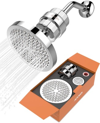 Shower Head With 15-Stage Water Filter