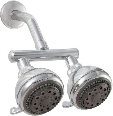 Neptune Dual Shower Heads-Chrome