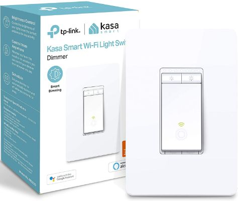 Kasa Smart Dimmer Switch by TP-Link, Single Pole, Needs Neutral Wire, WiFi Light Switch