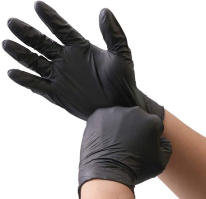 KOMI 100Pcs Disposable Nitrile Gloves