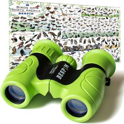 BESPIN Binoculars for Kids 8x21 Bird Watching, High-Resolution Real Optics for Wildlife Watching