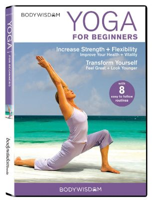 Yoga for Beginners DVD- 8 Yoga Video Routines for Beginners