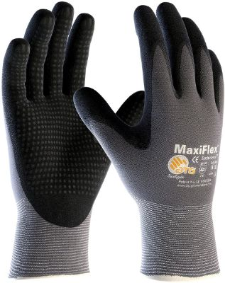 3 Pack MaxiFlex Endurance 34-844 Seamless Knit Nylon Work Glove