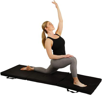 Sunny Health & Fitness Folding Gymnastics Tumbling Mat