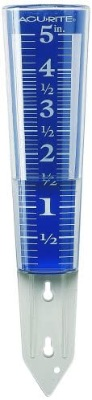 Large Rain Gauge With Magnifying Design