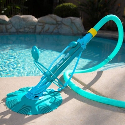 Suction Pool Cleaner With Long Hose